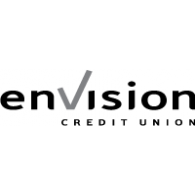 envision credit union logo vector logo
