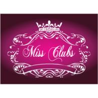 Miss Clubs logo vector logo