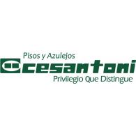 Cesantoni Pisos logo vector logo