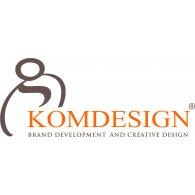 Komdesign logo vector logo