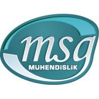 MSG Muhendislik logo vector logo