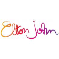 Elton John logo vector logo