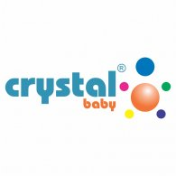 Crystal Baby logo vector logo
