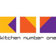 Kitchen number One logo vector logo