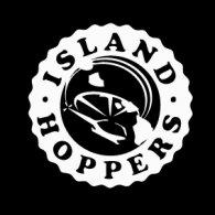 Island hoppers logo vector logo