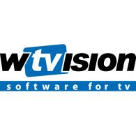 wTVision logo vector logo