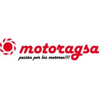 Motoragsa logo vector logo