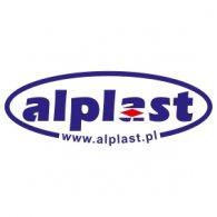 Alplast logo vector logo
