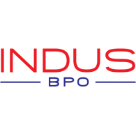 Indus BPO logo vector logo