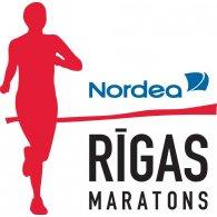 Nordea Rīgas Maratons logo vector logo