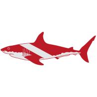 Tiburon Scuba logo vector logo