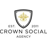 Crown Social Agency logo vector logo