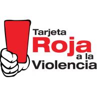 Tarjeta Roja a la Violencia logo vector logo