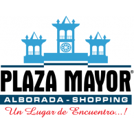 C.C. Plaza Mayor Alborada Shopping logo vector logo