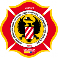 Bomberos Bogota UAECOB logo vector logo