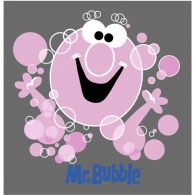 Mr. Bubble logo vector logo