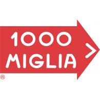 1000 Miglia logo vector logo