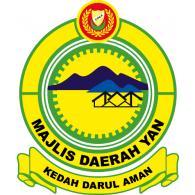 MAJLIS DAERAH YAN logo vector logo
