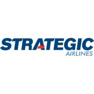 Strategic Airlines logo vector logo