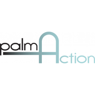 Palm Action logo vector logo