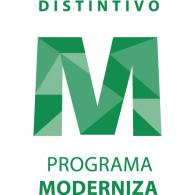 Distintivo M Programa Moderniza logo vector logo