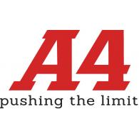 A4 Apparel logo vector logo