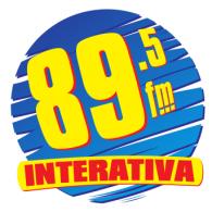 Interativa FM logo vector logo