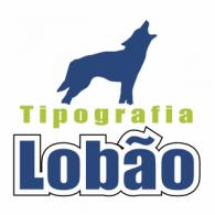 Tipografia Lobao logo vector logo