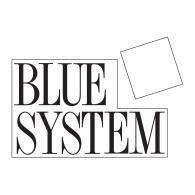 Blue System logo vector logo