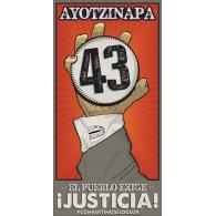 Ayotzinapa logo vector logo