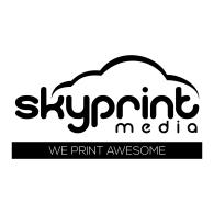 SkyPrintMedia Inc logo vector logo