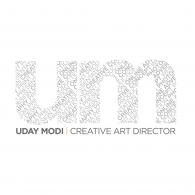 Uday Modi logo vector logo