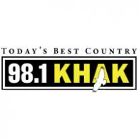 98.1 KHAK logo vector logo