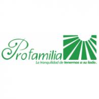 Profamilia logo vector logo