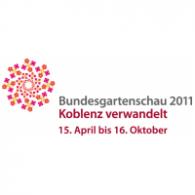BUGA 2011 logo vector logo