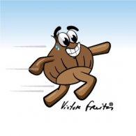 Castanha a Correr logo vector logo