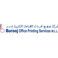 Burooj Office Printing Servcies logo vector logo
