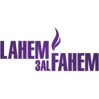 Lahem 3al Fahem logo vector logo