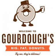 Gourdough's Donuts logo vector logo