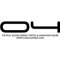Casa Cuatro logo vector logo