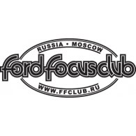 Ford Focus Club logo vector logo