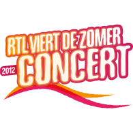 RTL viert de zomer Concert 2012 logo vector logo