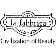 la fabbrica logo vector logo