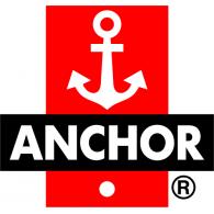Anchor logo vector logo