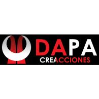 Dapa creacciones logo vector logo