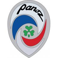 Panoz logo vector logo
