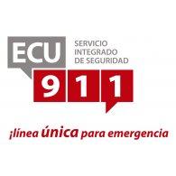 ECU 911 logo vector logo
