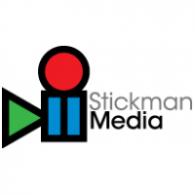 Stickman Media logo vector logo