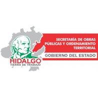 Secretaria de Obras Publicas del Gobierno del Estado de Hidalgo, Francisco Olvera Ruiz Gobernador logo vector logo