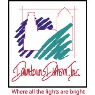 Downtown Durham logo vector logo